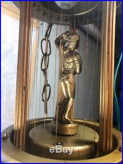 17 Vintage Mineral Oil Rain Drop Hanging Lamp Greek Goddess