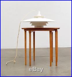 1960s Space Age Danish Modern UFO Hanging Lamp Fixture Mid Century Vintage