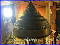 1970's Vintage Old Grist Mill Hanging Mineral Oil Rain Lamp Rare 36