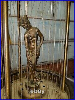 1970s Vintage Hanging Mineral Oil Rain Lamp 36 x 14