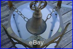 #1 Vintage Theatre Church Hanging Light Sconce Architectural Pendant Lamps 32