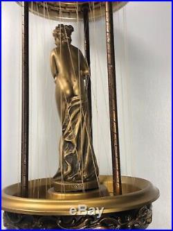 30 Vintage CREATORS INC Hanging Rain Mineral Oil Lamp Greek Goddess