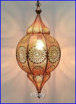 31 Moroccan Hanging Turkish Lamp Ceiling Light Fixture Or Outdoor Vintage Lamps