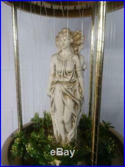 36 Vintage CREATORS INC Hanging Rain Mineral Oil Lamp Greek 3 Goddess