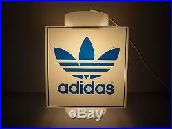Adidas Vintage Pendant Light Hanging Lamp Ultra Rare Collectible Torsion ZX 70's