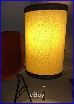 Antique Vintage Mid Century Modern Hanging Swag Lamp 1960s Eames Era