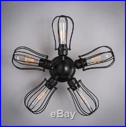 Edison Vintage Industrial Ceiling Lamp Retro Hanging Loft Pendant Wall Light USA
