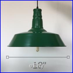 Elegant Modern Vintage Loft Chain Hanging Pendant Lamp Shade Ceiling Light METAL