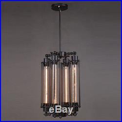 HL414 Four E27 bulb decorative hanging retro style vintage industrial lamp loft