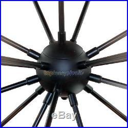 Industrial 18-Light Vintage Decor Metal Sputnik Chandelier Pendant Hanging Lamp