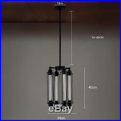 Industrial Vintage Metal Steampunk Chandelier Edison Bulb Hanging Pendant Lamp