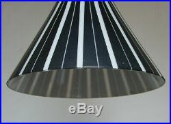 LAMPE SUSPENSION 50's forme DIABOLO VINTAGE MID CENTURY HANGING CEILING LAMP