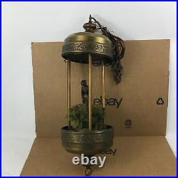 Large 30' Vintage Hanging Nude Goddess Mineral Oil Falling Rain Lamp