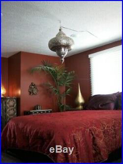 Large Moroccan hanging Lamp Vintage Ceiling Lights Home Lantern Vintage style