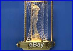 Largest Vintage Oil Rain Lamp Hanging 38 RARE