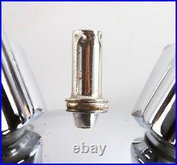 Mid Century Modern Vintage Atomic Mine Sputnik Chrome Hanging Pendant Lamp
