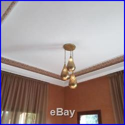 Moroccan Pendant Brass Light Antique Lamp Hanging Vintage Ceiling Chandelier