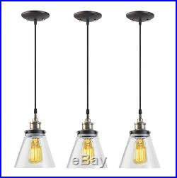 NEW 3 Vintage Dining Room Ceiling Light Lamp Hanging Lighting Luxury Kitchen Bar