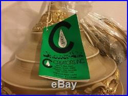 NEW VINTAGE Creators Inc Shower Lite Oil Rain Lamp Hanging Swag Greek Goddess