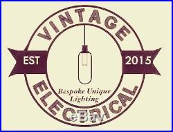 New Industrial Chandelier 6 X Pendant Hanging Lights Ceiling Vintage Lamps