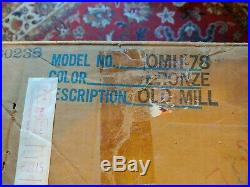 New Vintage Creations Old grist Mill Hanging Mineral Oil Rain Lamp 36