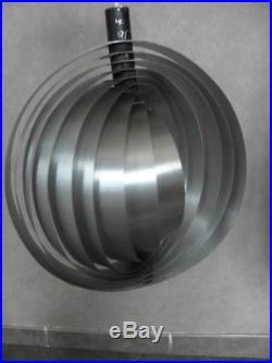 Pendant Hanging Ceiling light cage 70's Henri Mathieu vintage retro lamp bauhaus