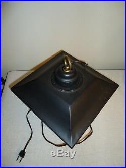 RARE Vintage Calvert Reserve Gin Whiskey Working Hanging Rotating Bar Light Lamp
