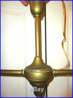Rare 1920'S Antique Vintage Hanging Ceiling Light Lamp Fixture Chandelier