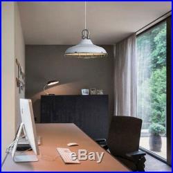 Retro Vintage Industrial Pendant Light Lamp Hanging Ceiling Fixture Metal Cage