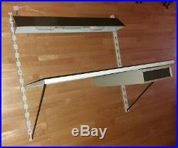 TOMADO/PILASTRO Vintage Industrial Retro Desk + Drawer + Hanging desk lamp (S19)