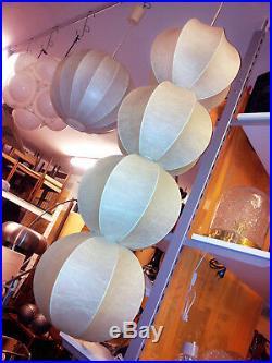Unique Vintage Cocoon Pendant Hanging Light Lamp Castiglioni Mid-Century 60s