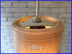 VTG 50's YASHA HEIFETZ Rotaflex Hanging Pendant Lamp Eames, Space age
