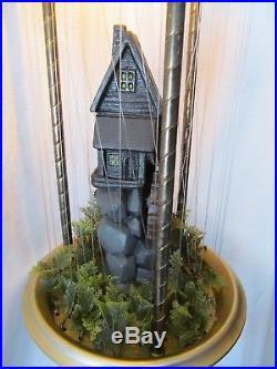 VTG Mineral Oil Rain Drip Mill Electric hanging Lamp Water Wheel Creators Inc