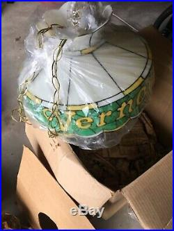 Vernors Vintage Hanging Lamp Collectible New In Box