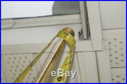 Vintage 1960s Mid Century Modern Brass 3 Stage Electric Hanging Swag POLE LAMP