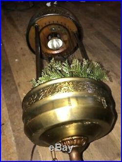 Vintage 32 Hanging Oil Rain Lamp-See Details
