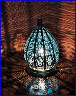 Vintage Antique Turkish Moroccan Hanging Pendant Lamp Xmas Tiffany Ceiling Light