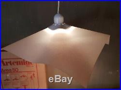 Vintage Artemide Area 50 Mario Bellini 1974 Hang Ceiling Lamp Light NEW E/0440