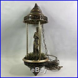 Vintage Creators Inc Hanging Rain Lamp Nude Goddess Mineral Oil Motion Lamp 31