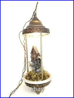Vintage Creators Inc Old Grist Mill Hanging Mineral Oil Rain Lamp. 30