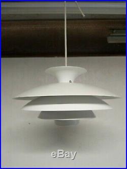 Vintage Danish Mid Century Modern Hanging Pendant Lamp