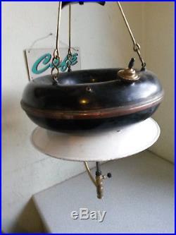 Vintage Doughnut Hanging Tilley Lamp Burner