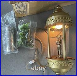 Vintage Electric Rain Oil Motion Lamp Swag Pendant Light