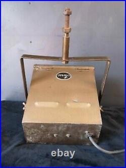 Vintage Furse Light Box'BBC On Air' Hanging Studio Light
