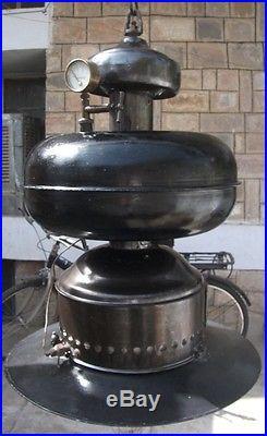 Vintage Germany Made Hanging Kerosene Lamp Like Petromax 837 Lantern