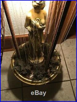 Vintage Hanging Mineral Oil Rain Lamp 30 Creators Inc. Nude Greek Goddess