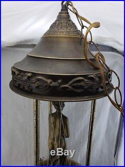 Vintage Hanging Mineral Oil Rain Motion Lamp Nude Greek Goddess Lady Works. 30