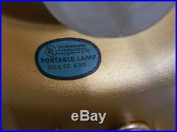 Vintage Hanging Oil Rain Lamp Light Goddess 32 inch, motor runs