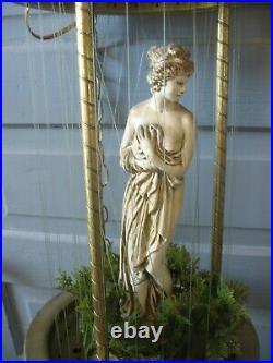Vintage Hanging Oil Rain Lamp Venus Goddess Swag Lamp 32 Creators Inc