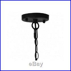 Vintage Industrial Pendant Light Modern Hand Blown Glass Hanging Lamp Lighting